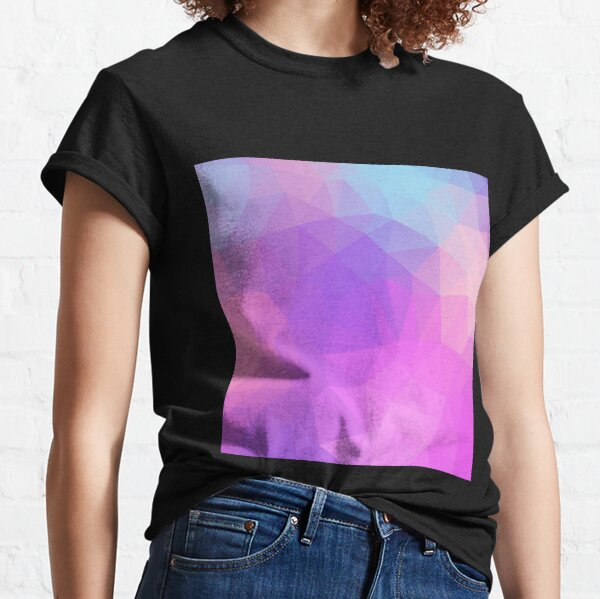 Ornamental Pattern With Purple Color Classic T-Shirt