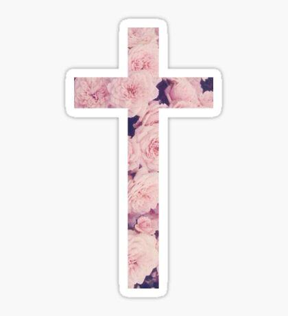 Christian Cross Sticker