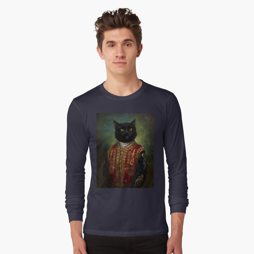 Hermitage Court Moor in casual uniform  Long Sleeve T-Shirt Front