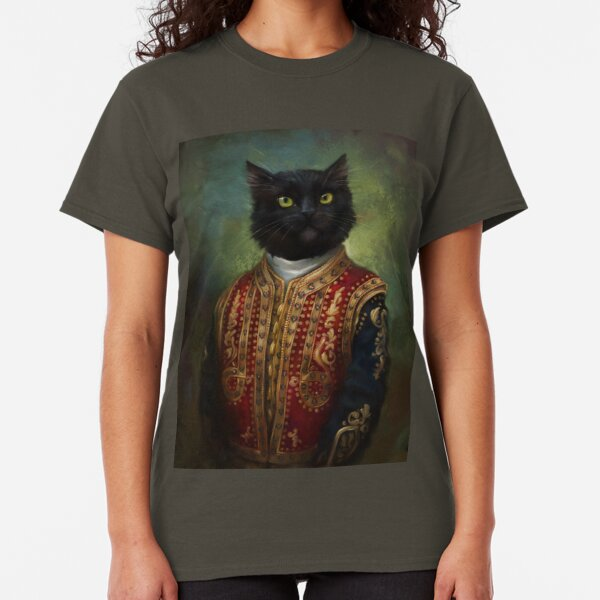 Hermitage Court Moor in casual uniform  Classic T-Shirt