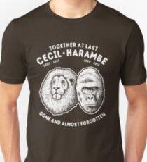 Cecil Harambe Memorial T-Shirt T-Shirt
