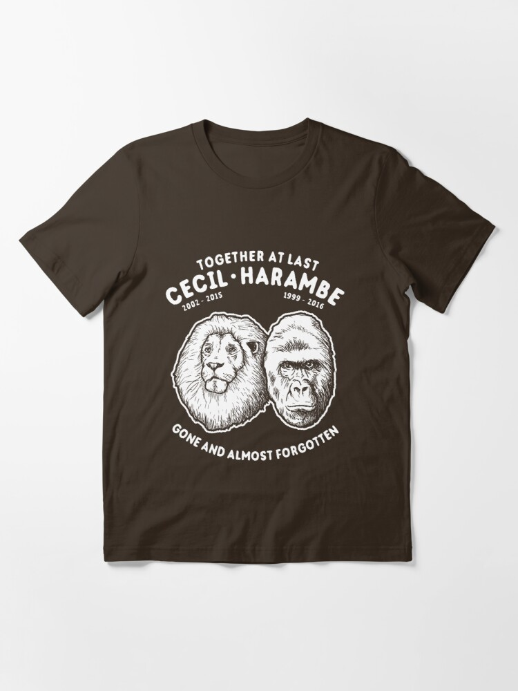 Alternate view of Cecil Harambe Memorial T-Shirt Essential T-Shirt
