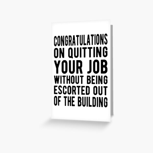 Work Will Suck Without You Funny Going Away Gift Coworker Leaving Farewell Card READY TO SHIP