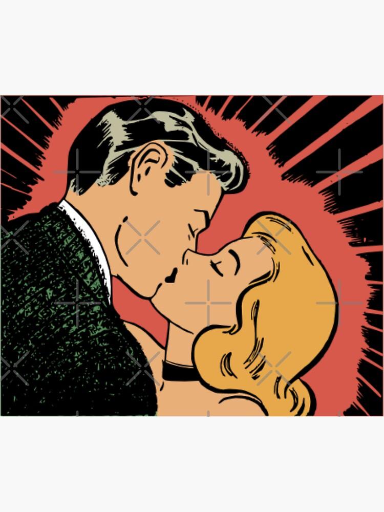 Vintage Romantic Kiss by ArtMystSoul