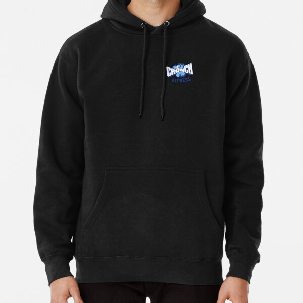 Crunch fitness gym logo Pullover Hoodie