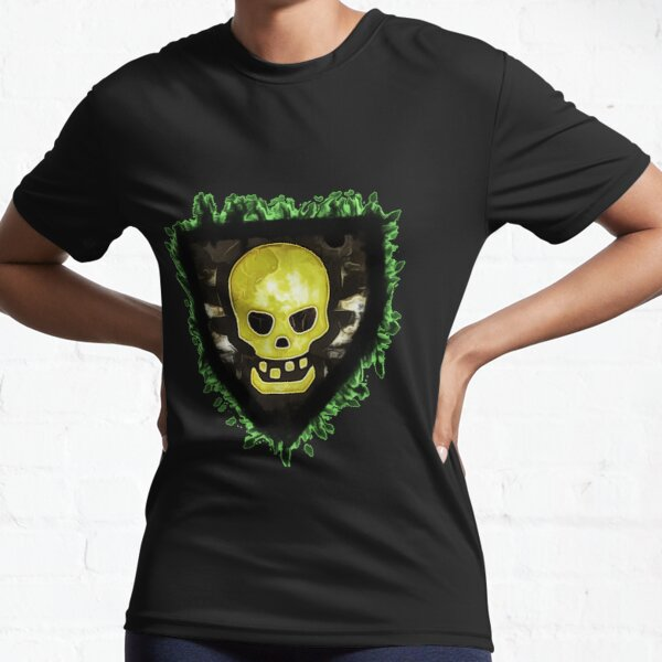 Skulls and Shields Active T-Shirt