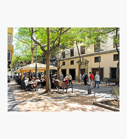 Streetview in Tenerife Photographic Print