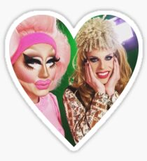 Trixie and Katya Sticker