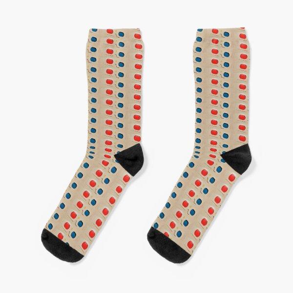 Poodlepods Pippa's 3D Retro Specs Range Socks