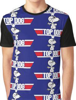 TOP GUN - SNOOPY MAVERICK  Graphic T-Shirt