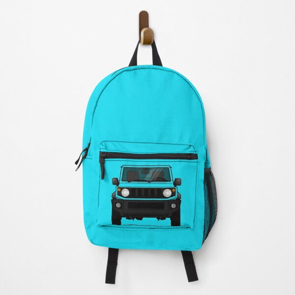 Small Blue 4x4 Japan Backpack