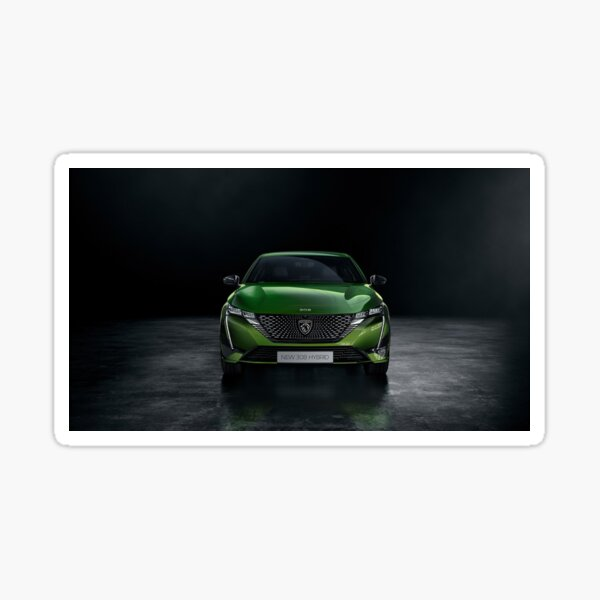 Peugeot 308 3 2021 face  Sticker