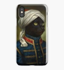 The Hermitage Court Moor Cat  iPhone Case/Skin