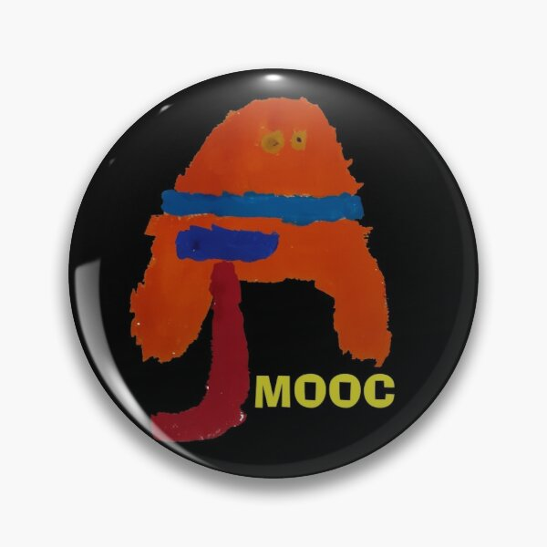 AJMOOC YOUTUBER OFFICIAL MERCHANDISE Pin