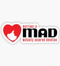 MAD MARRIAGE - Red Sticker