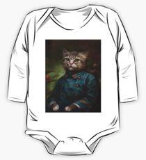 Der Hermitage Court Konditor Lehrling Cat Baby Body Langarm