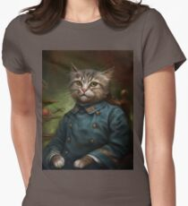 The Hermitage Court Confectioner Apprentice Cat  Women's Fitted T-Shirt