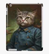 The Hermitage Court Confectioner Apprentice Cat  iPad Case/Skin