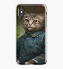 The Hermitage Court Confectioner Apprentice Cat  iPhone Case/Skin