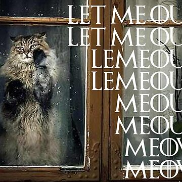Let me out...Meow by herbertshin