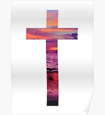 Christian Cross Poster