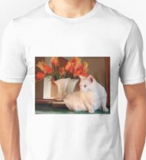 Snowball and the Tulips T-Shirt