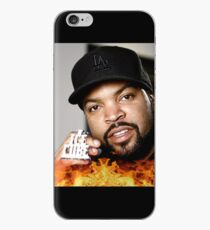 Ice Cube On Fire iPhone Case