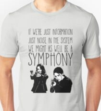Root and Shaw - Symphony - Person of interest T-Shirt