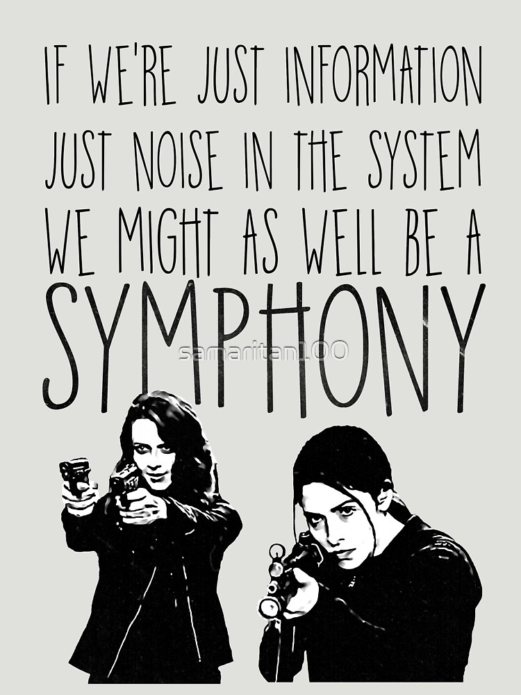 Root and Shaw - Symphony - Person of interest | Unisex T-Shirt