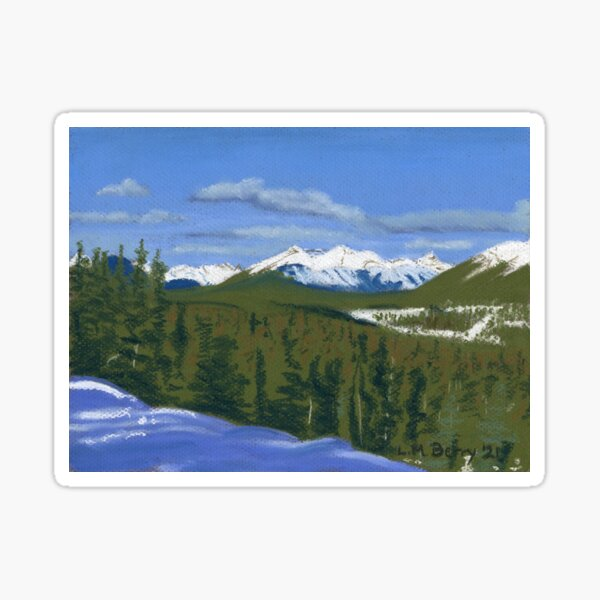 Across the Bow Valley Sticker