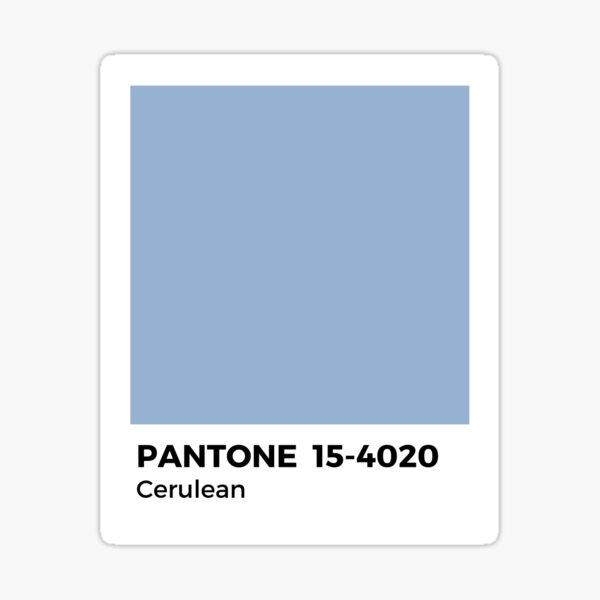PANTONE- Cerulean Sticker