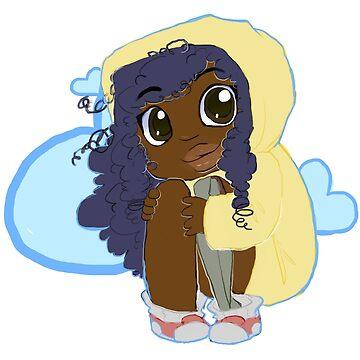 Chibi Halfy Sticker by spoonychan