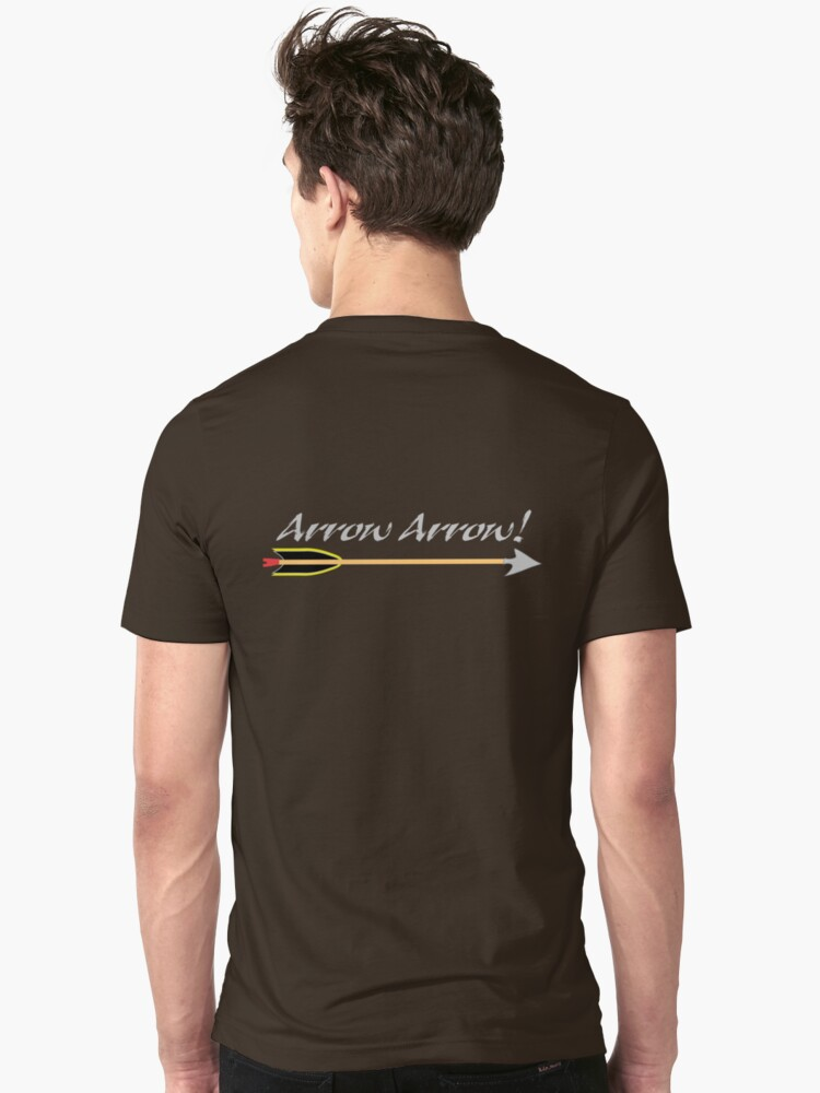 Arrow Arrow Archer's tee by patjila