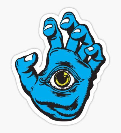 All Seeing Hand Sticker