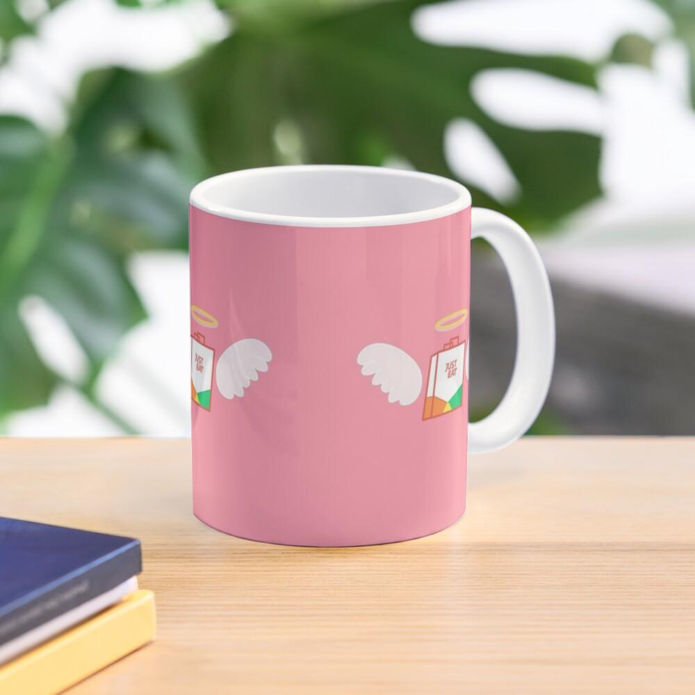 just eat angel Mug