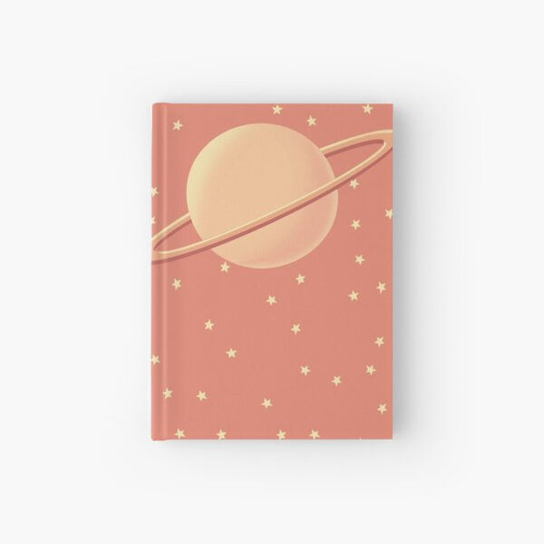 Cute Planets Hardcover Journal