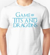 Game of Tits and Dragons T-Shirt