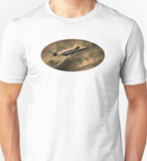 Jet Through The Clouds  Unisex T-Shirt