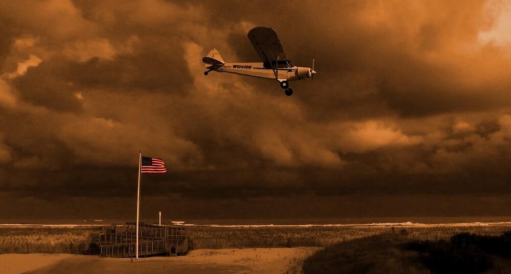 Good Night Wildwood Beach by David Dehner