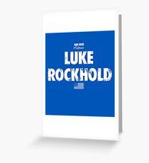 Luke Rockhold Greeting Card