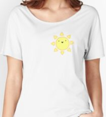 Happy Sun! Tumblr / Hipster / Trendy Women's Relaxed Fit T-Shirt