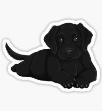 Labrador Puppy Sticker
