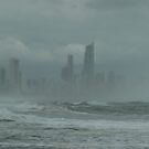 Sunshine, Beach, Swimming,  Suntan ?? Surfers Paradise come for the holidays? No, come back next week ! by Virginia McGowan