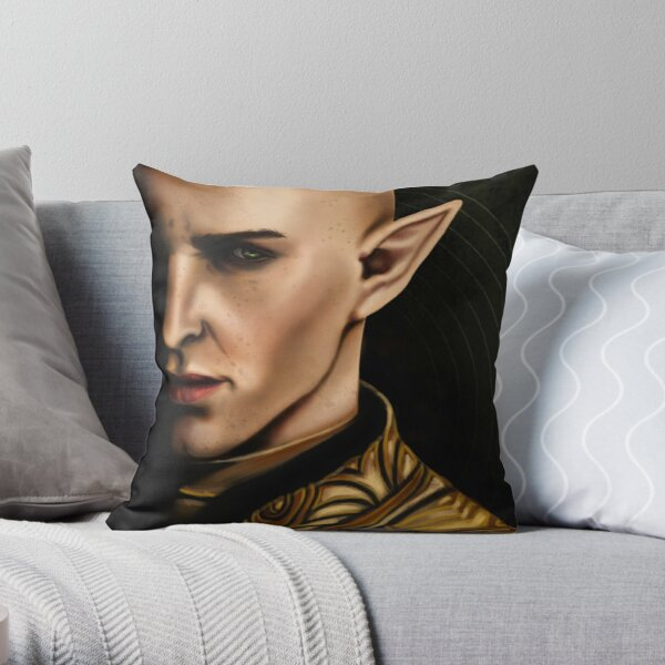 A Moment of Darkness Throw Pillow