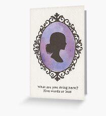 Buffy Cameo Greeting Card