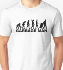 Evolution garbage man T-Shirt