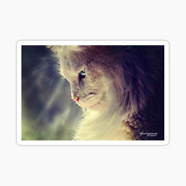 Lend Me a Kitten Sticker