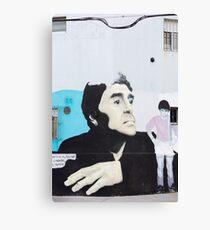 Diego Maradona Graffiti in Buenos Aires, Argentina Canvas Print