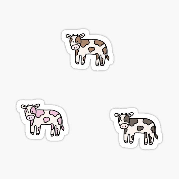 Adorable Mini Cow Sticker Pack Sticker