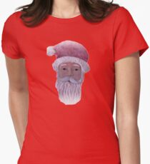 Old Saint Nicholas Womens Fitted T-Shirt